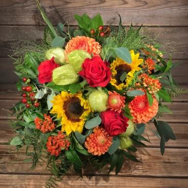 Bouquet coloré estival, Des Lys & Délices, Sion