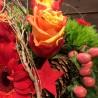 Bouquet aux couleurs chaleureuses d'hiver au coin du feu! Des Lys & Délices, Sion