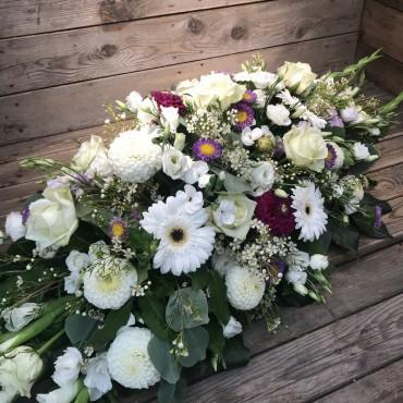 Gerbe pour dernier hommage, Des Lys & Délices, Sion