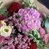 Bouquet bohème dans les teintes roses, Des Lys & Délices, Sion