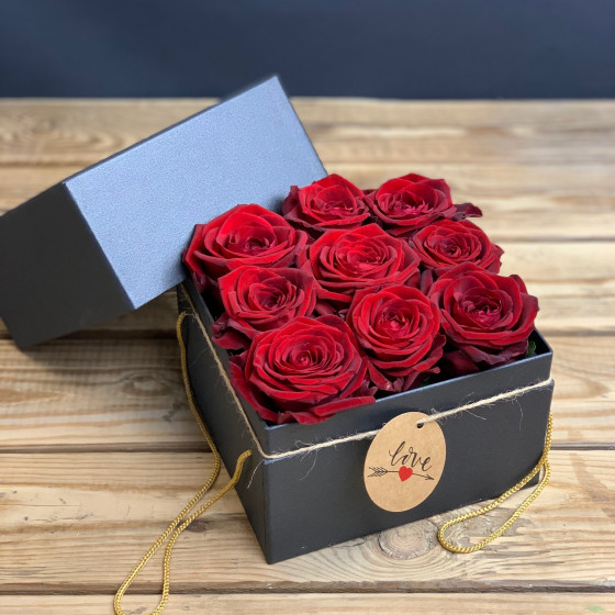 Flower box, boite à fleurs couleurs pastel, Des Lys & Délices, Sion