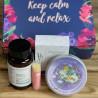 Coffret Keep Calm and, Relax, Lavande, Des Lys & Délices, Sion